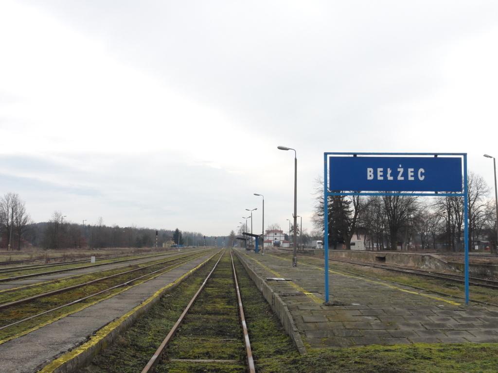 Vernichtungslager Belzec Bahnhof