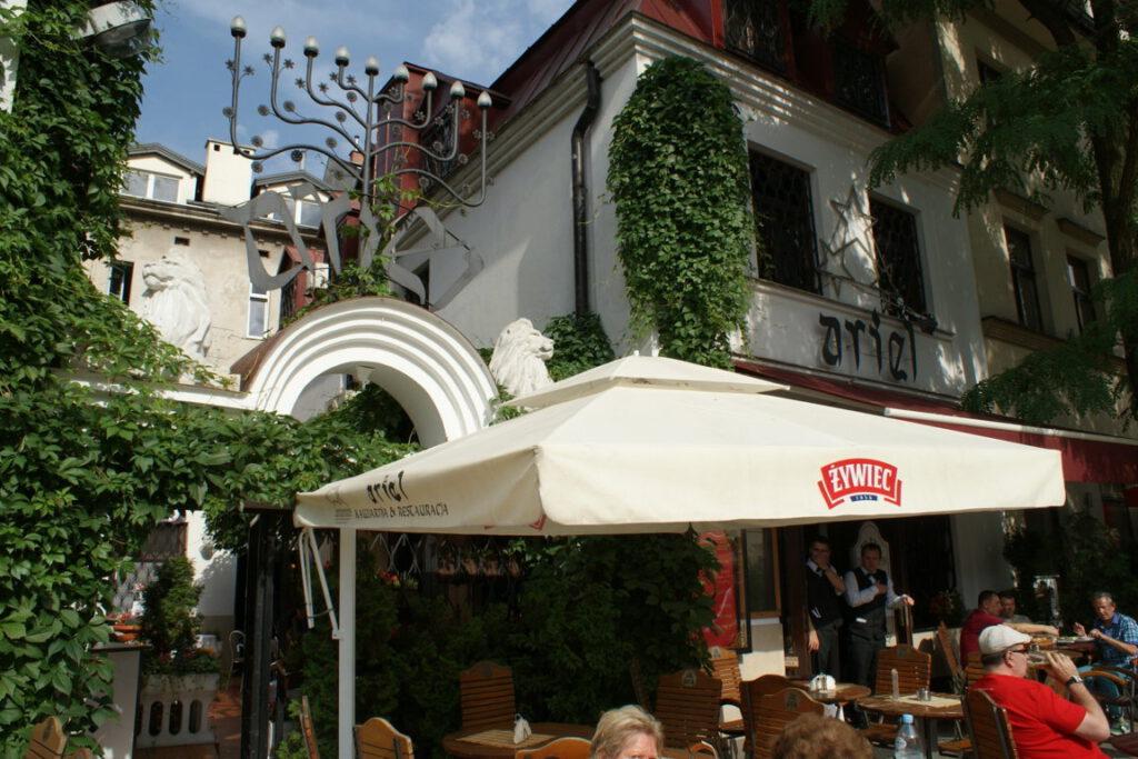 Krakau Kazimierz Restaurant Ariel
