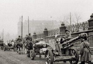 Rote Armee in Krakau