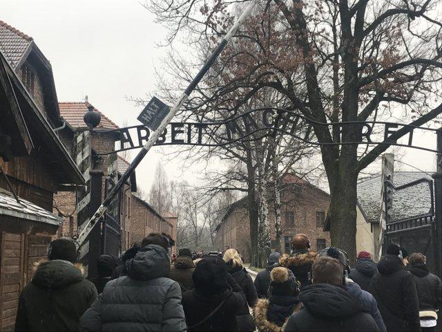 Auschwitz - Stammlager Haupteingangstor