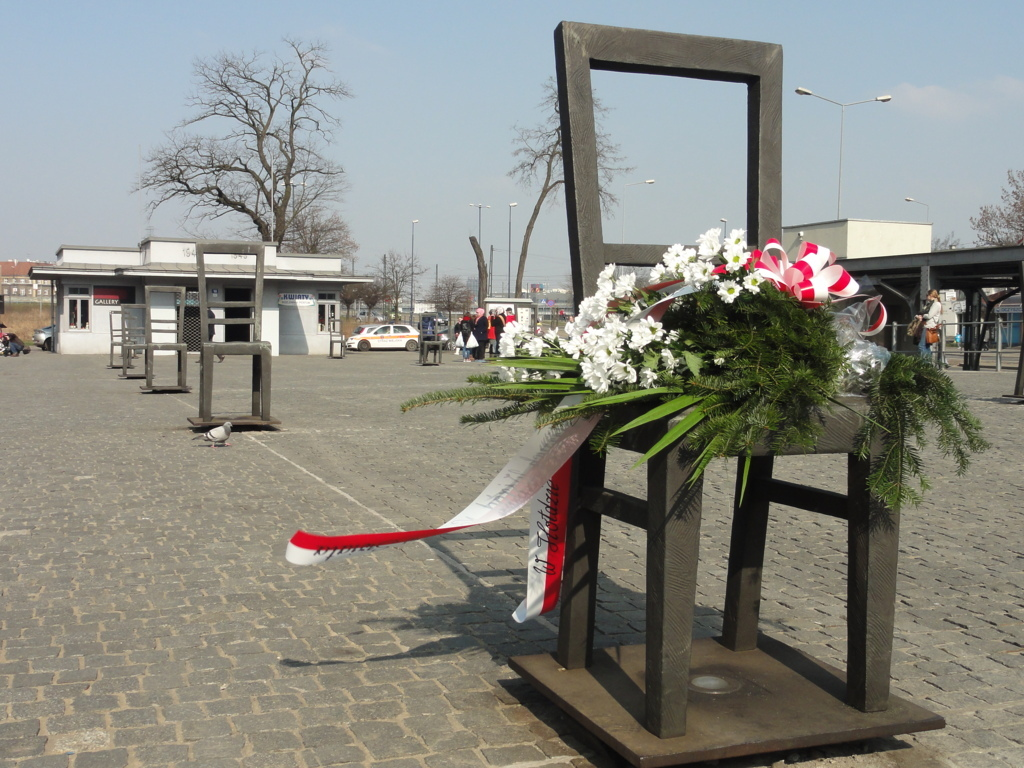 Platz der Ghettohelden in Krakau