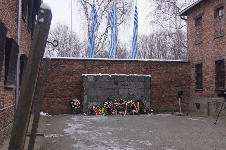 Auschwitz-Birkenau Jahrestag der Befreiung