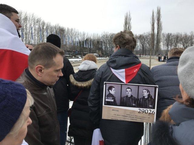 74. Jahrestag der Befreiung des KZ Auschwitz-Birkenau