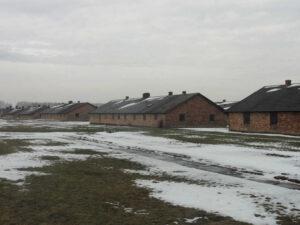 Auschwitz-Birkenau Baracken im Frauenlager
