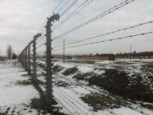 Auschwitz-Birkenau Baracken im Frauenlager Bauabschnitt B1