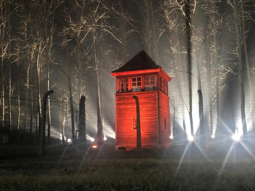 Auschwitz-Birkenau Wachturm