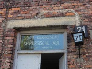 Auschwitz-Stammlager-Häftlingskrankenblock
