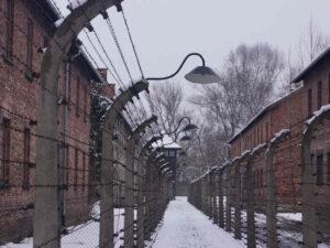 Auschwitz-Stammlager-Durchgang