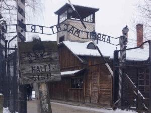 Auschwitz-Stammlager-Haupteingangstor