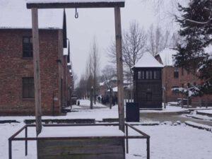 Auschwitz-Stammlager-Höss-Galgen