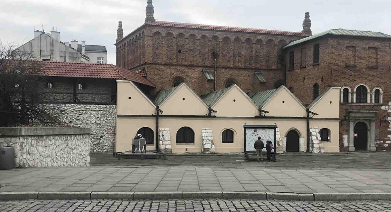 Schindlers Liste Alte Synagoge in Krakau