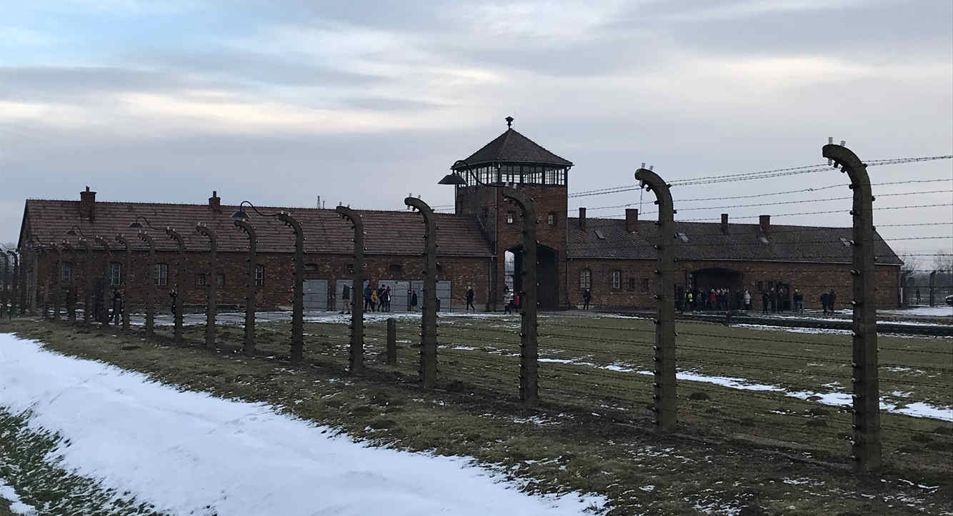 Schindlers Liste Auschwitz-Birkenau Haupttor