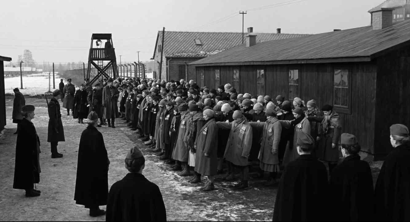 Schindlers Liste Filmszene Auschwitz-Birkenau