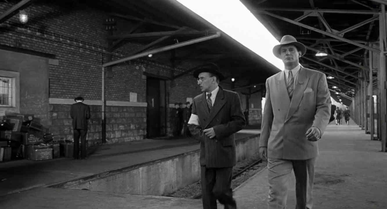 Schindlers Liste Filmszene Deportation nach Auschwitz
