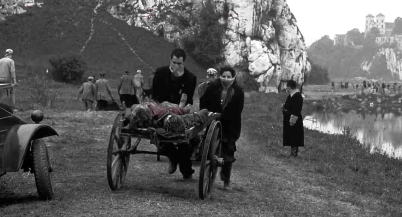 Schindlers Liste Filmszene Leichenverbrennung