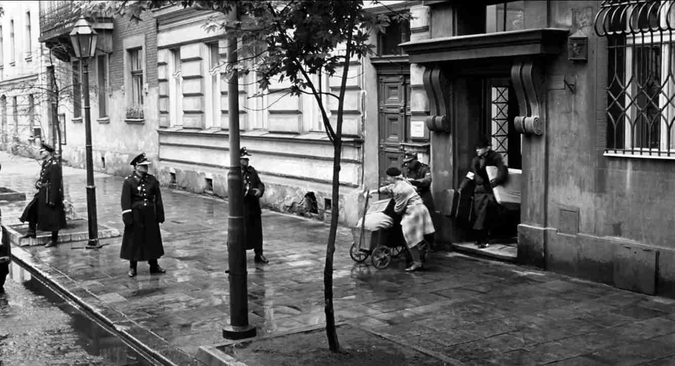 Schindlers Liste Filmszene Wohnungsräumung