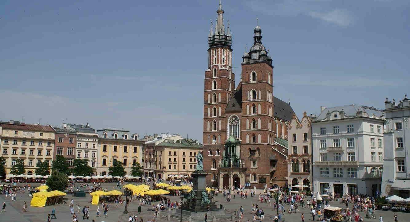 Schindlers Liste Marienkirche in Krakau